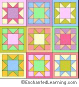 coloring pages for quilt blocks coloring pages e enchantedlearning