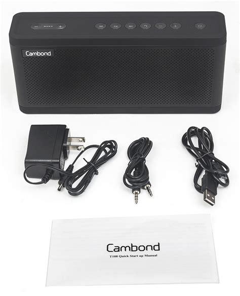 Speaker Bluetooth X Bass cambond x bass adjustable bass bluetooth speaker review the gadgeteer