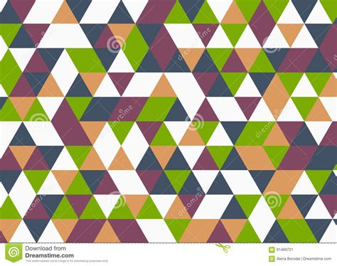 triangle color pattern vector vector modern colorful geometry triangle pattern color