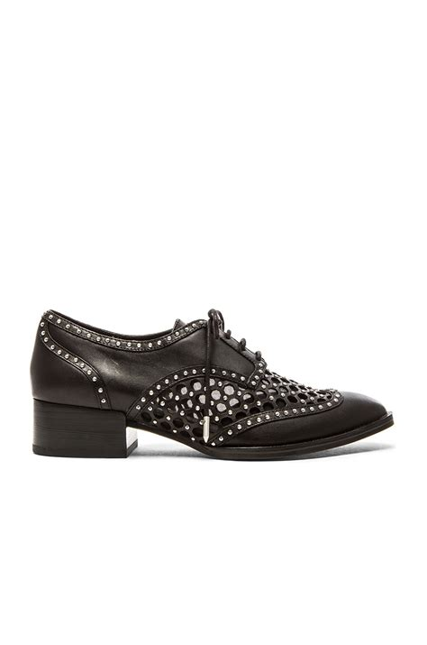 dolce vita oxford shoes dolce vita howell leather oxford shoes in black lyst