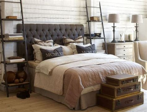 33 stylish masculine headboards for your s cave