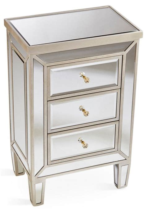 Mirrored Nightstand With Drawers by 1000 Ideas About Mirrored Nightstand On