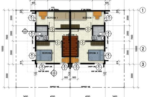 House Design Plans Philippines celadon duplex second floor plan northfield residences