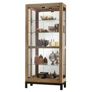 howard miller curio cabinet howard miller quinn curio display cabinet 680598