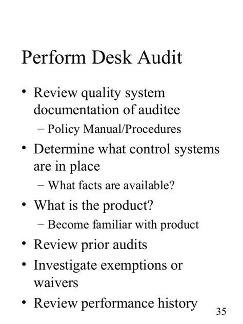 Desk Audit Definition by Fundamentals Of Auditing Ptc