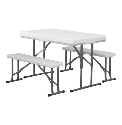 folding table and bench set pro quip folding table and bench set lowest prices specials online makro