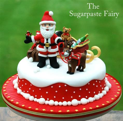 the sugarpaste fairy cakes christmas pinterest