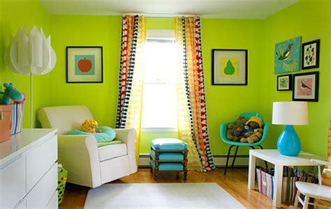 paint colors portray different moods in a baby nursery