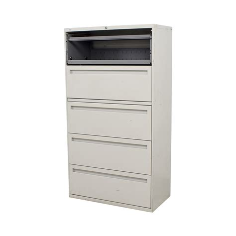 hon five drawer file cabinet 90 hon hon white five drawer lateral file cabinet