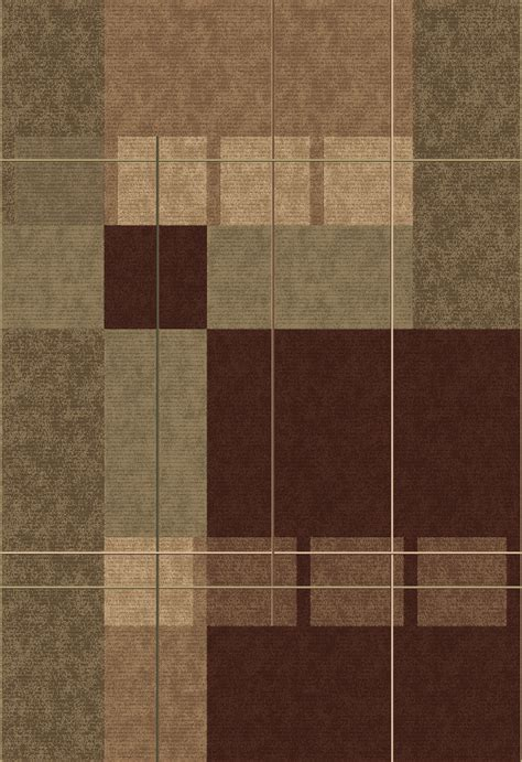 brown tartan rug natura brown plaid texture area rug modern frieze area rugs