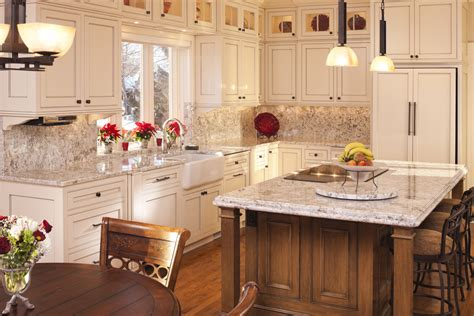 adding an island to an existing kitchen light color granite kitchen traditional with beige kitchen
