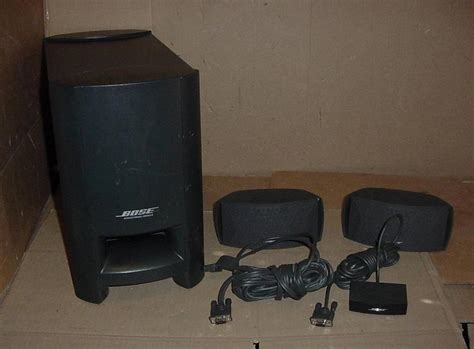 bose acoustimass module cinemate digital home theater