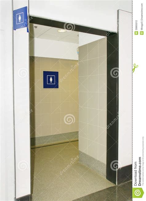 bathroom with 2 entrances women bathroom stock photo image 39865012