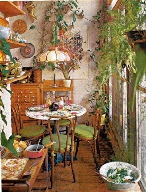 boho dining room bohemian delight