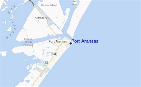 port aransas texas map port aransas surf forecast and surf reports texas usa