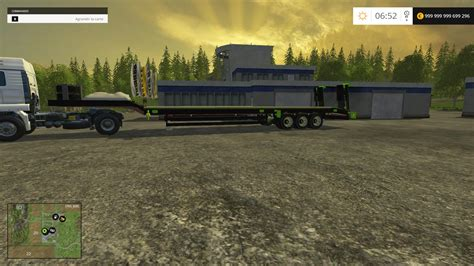 Themed Ls by Porte Engins Theme Trailer V1 Ls15 Mod