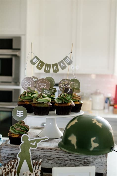 army themed decorations kara s ideas army birthday kara s ideas