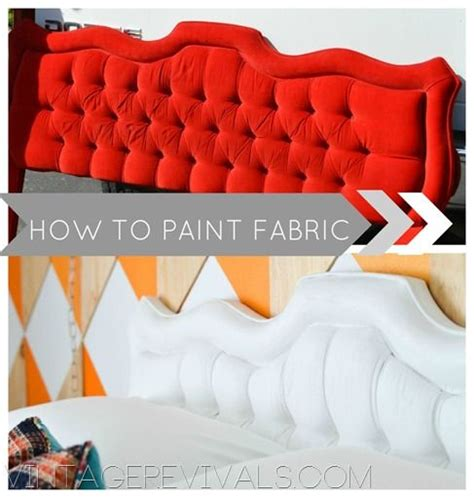 kuhn upholstery how to paint fabric vintage revivals paint fabric how