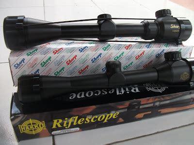 Teleskop Sharp 4x40 telescope holder pellet peredam mimis slendang produsen dan toko senapan angin