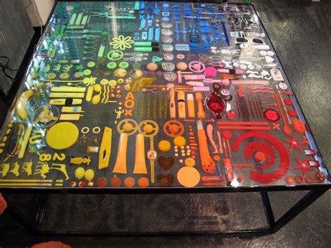 objects  resin table diy resin table resin table