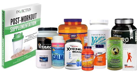 supplement list the complete list of recommended supplements invictus