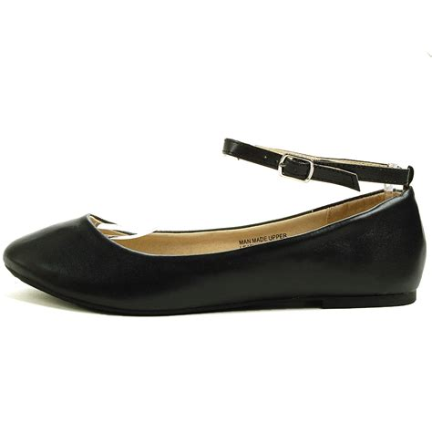 flat shoes with straps alpineswiss calla womens ballet flats ankle shoe