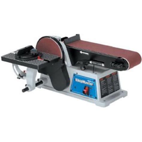 delta bench sander delta sm500 shopmaster 5 2 amp 4 by 6 inch benchtop belt