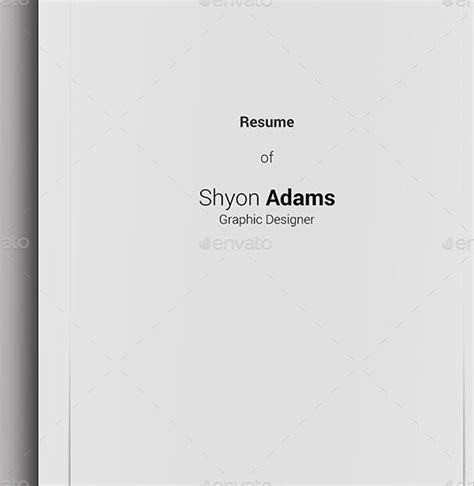 resume cover page 14 resume cover pages psd vector eps pdf