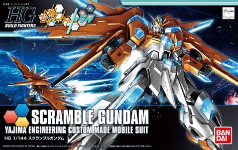 Hgbf 1 144 Scramble Gundam Yajima Engineering gundam build fighters try hgbf 047 scramble gundam yajima engineering custom made mobile suit