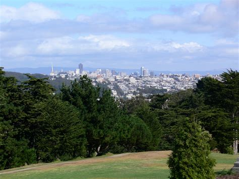 file lincoln park sf view downtown jpg wikimedia commons
