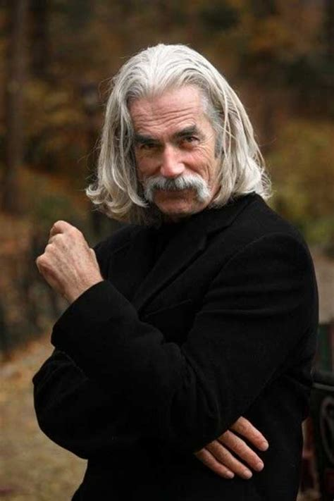 sam elliott long grey slickback hairstyle and handlebar mustache 8 long hairstyles for older men mens hairstyles 2018