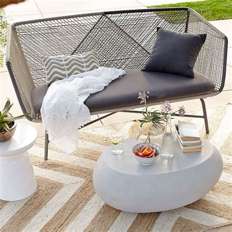pebble outdoor coffee table pebble outdoor coffee table elm