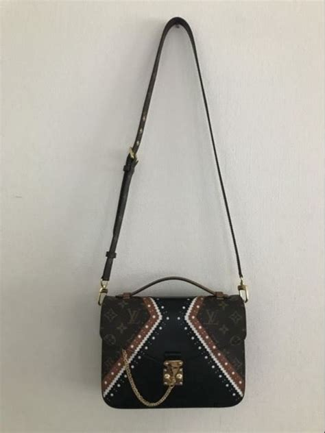 Lv Metis 2tones Limited Edition With louis vuitton limited edition pochette metis brouge mm