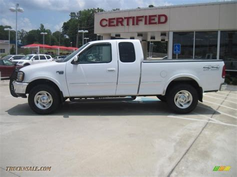 1998 ford f150 1998 ford f150 xlt supercab 4x4 in oxford white photo 3