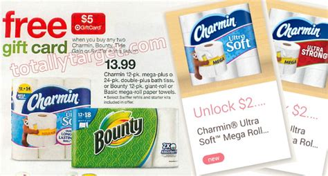 Check Value Of Target Gift Card - new high value charmin mega roll ibotta offers upcoming target gift card deal
