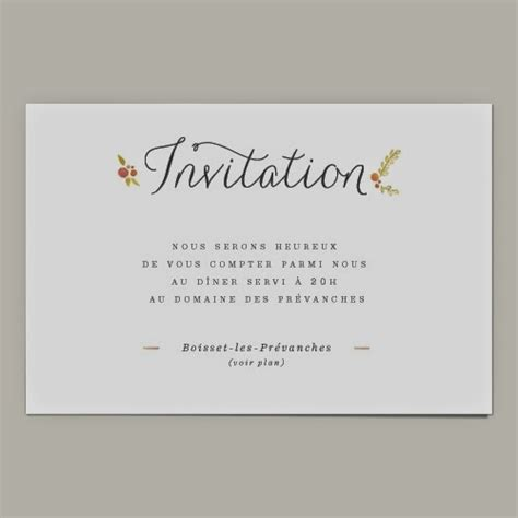 Exemple De Lettre D Invitation Au Restaurant Modele Invitation A Un Repas Document