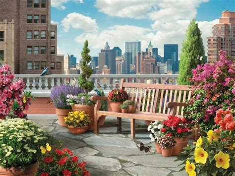 21 Beautiful Terrace Garden Images You Should Look For Beautiful Small Terrace Gardens 22