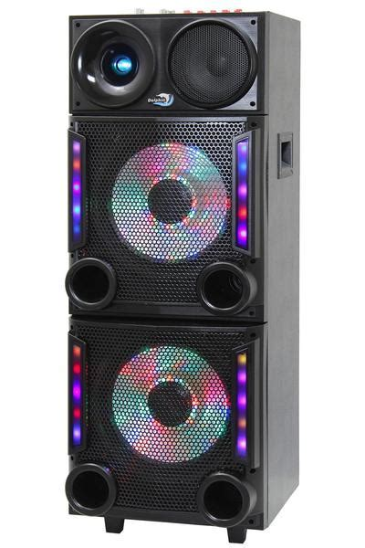 Dolphin SP 147BT Party Speaker with 7 Color Lights & Bluetooth
