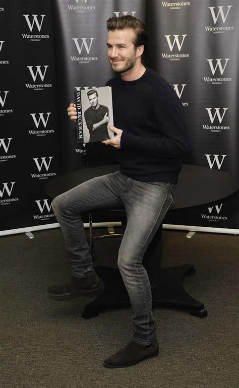 david beckham wears laurent suede chelsea boots at