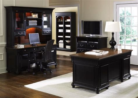 St Ives Traditional Executive Home Office Furniture Desk Set Traditional Home Office Furniture