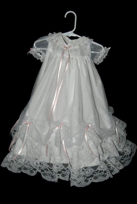 Handmade Christening Gowns - handmade christening gown 6 9 months