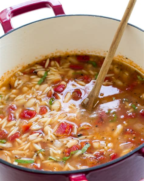 italian ham and white bean orzo soup chef savvy
