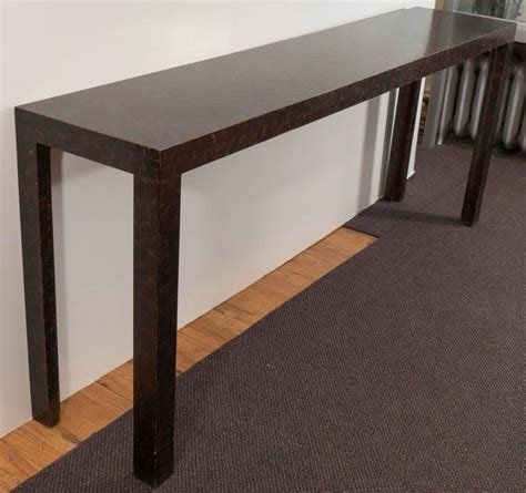 John Widdicomb Parsons Console Table With Faux Parsons Sofa Table