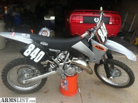 01 Ktm 125 Sx Armslist For Sale 2002 Ktm 125 Sx Fresh Rebuild New
