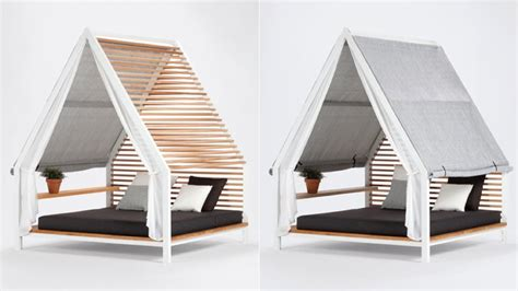 outside bed adjustable slats make this outdoor bed good for spring and summer gizmodo australia