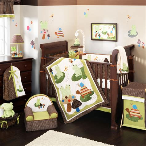 Nursery Decor Set Baby Boy Nurseries Frog Theme Decor Decosee