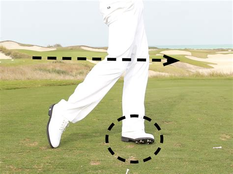 golf swing left knee action leg action in the golf swing golf monthly