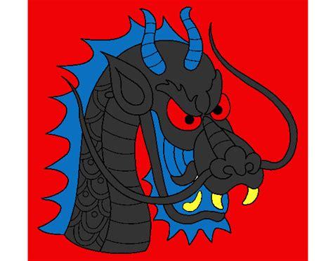 testa di drago disegno testa di drago colorato da godzilla il 25 di