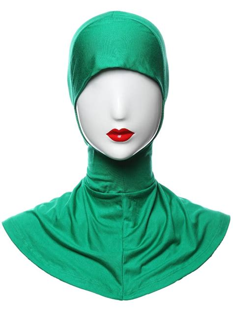 Yika Islamic Muslim Cover Inner Caps Split Longundersc muslim cover inner caps back split islamic scarf hats ebay