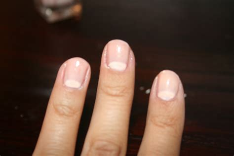 pale nail beds sparkle is a color tue torial half moon manicure